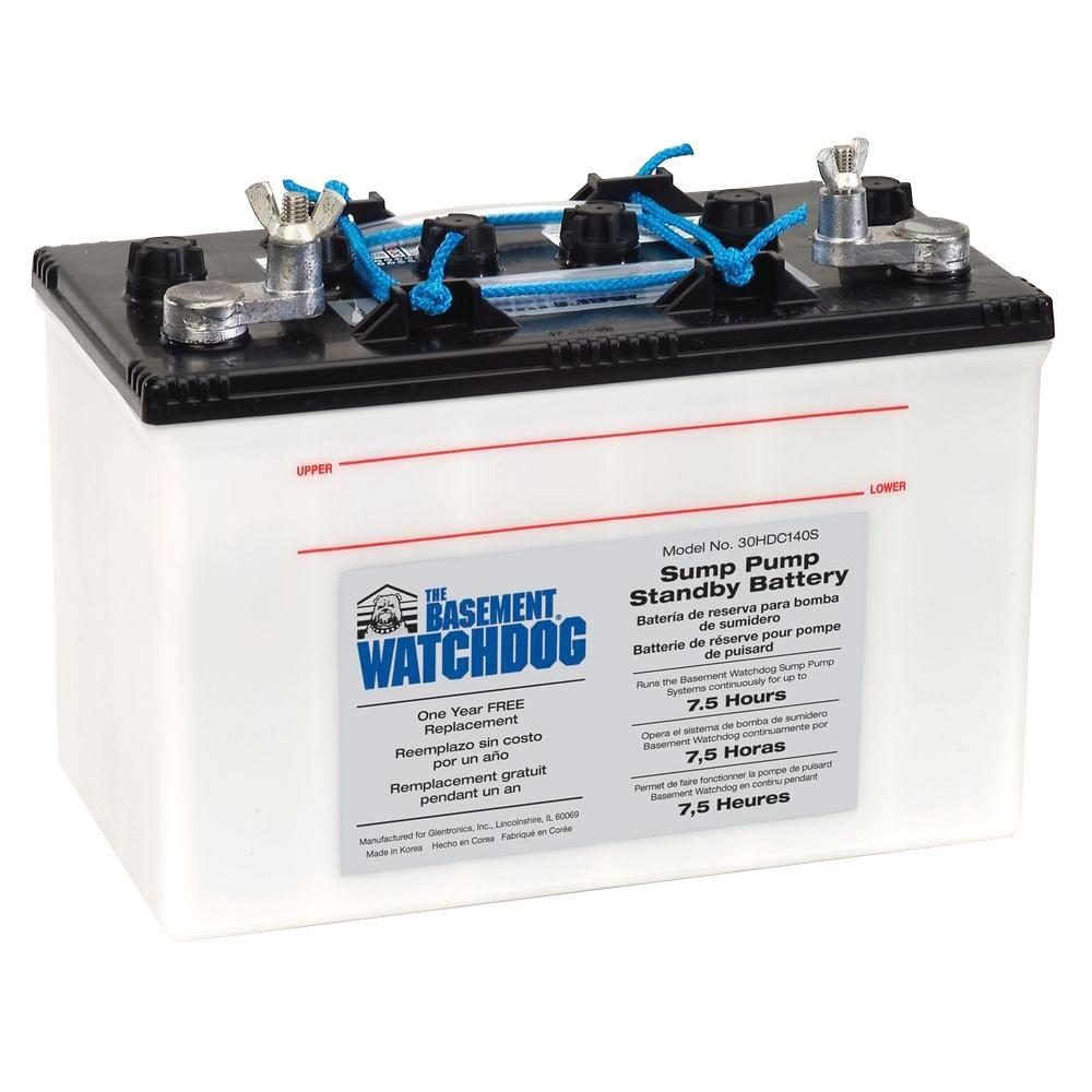Basement Watchdog Big Standby Battery 30hdc140s The Home