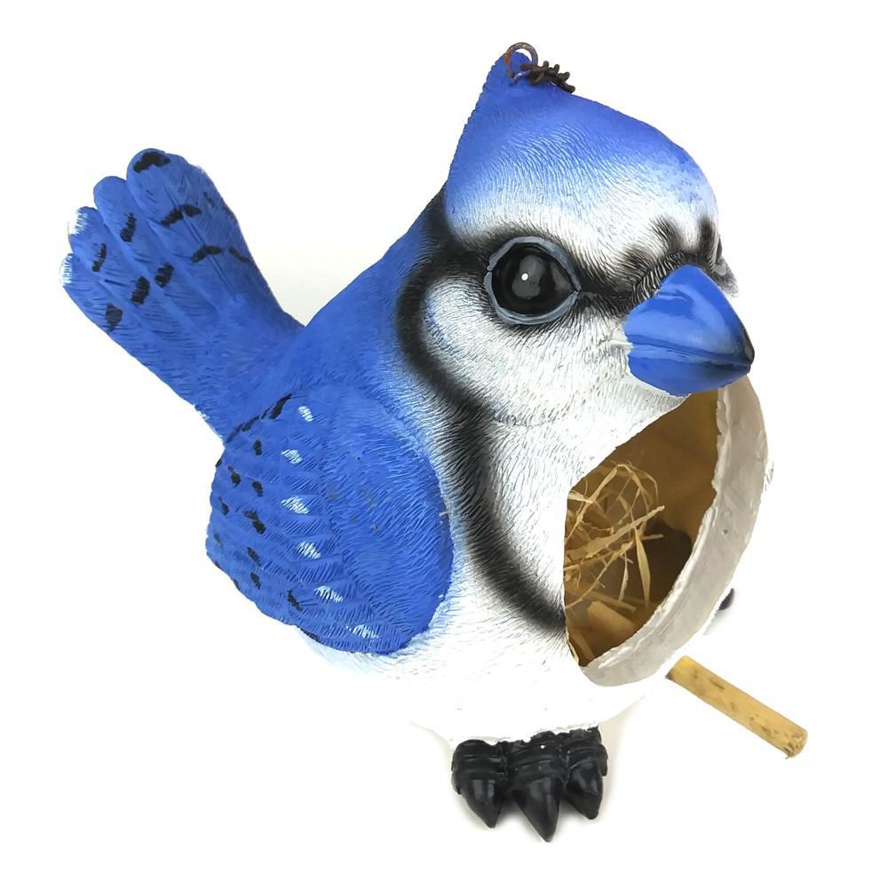 Blue Jay Birdhouse