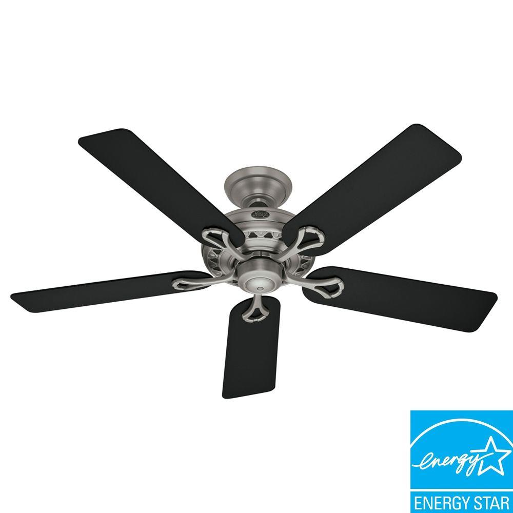 Hunter Hunter Savoy 52 in. Antique Pewter Ceiling Fan-DISCONTINUED