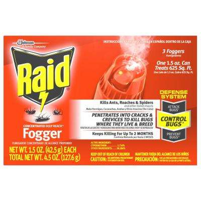 1.5 oz. Deep Reach Insect Foggers (3-Pack)