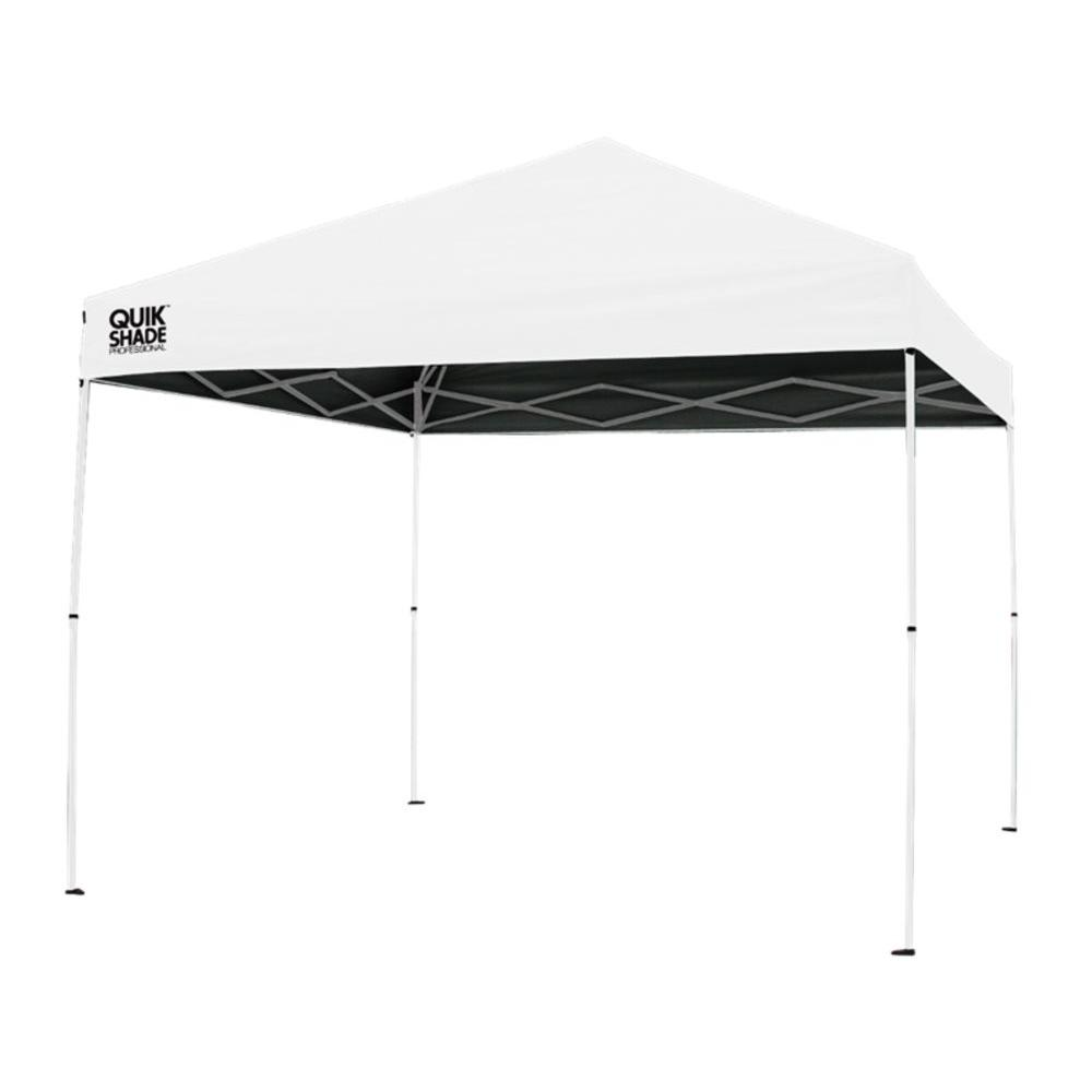 Quik Shade P100 Professional 10 ft. x 10 ft. White Canopy  sc 1 st  The Home Depot & Quik Shade P100 Professional 10 ft. x 10 ft. White Canopy-164449 ...