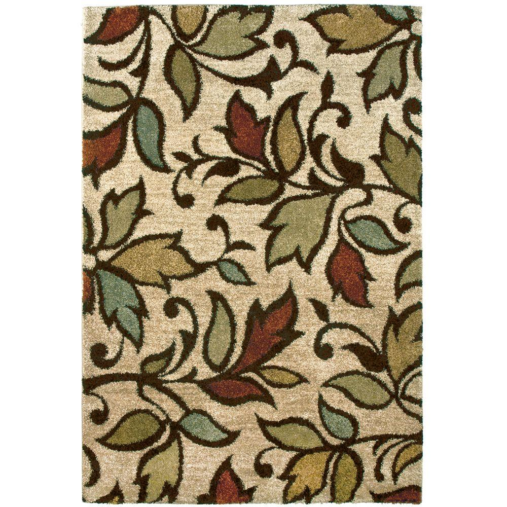 null Augustine Bisque 7 ft. 10 in. x 10 ft. 10 in. Area Rug
