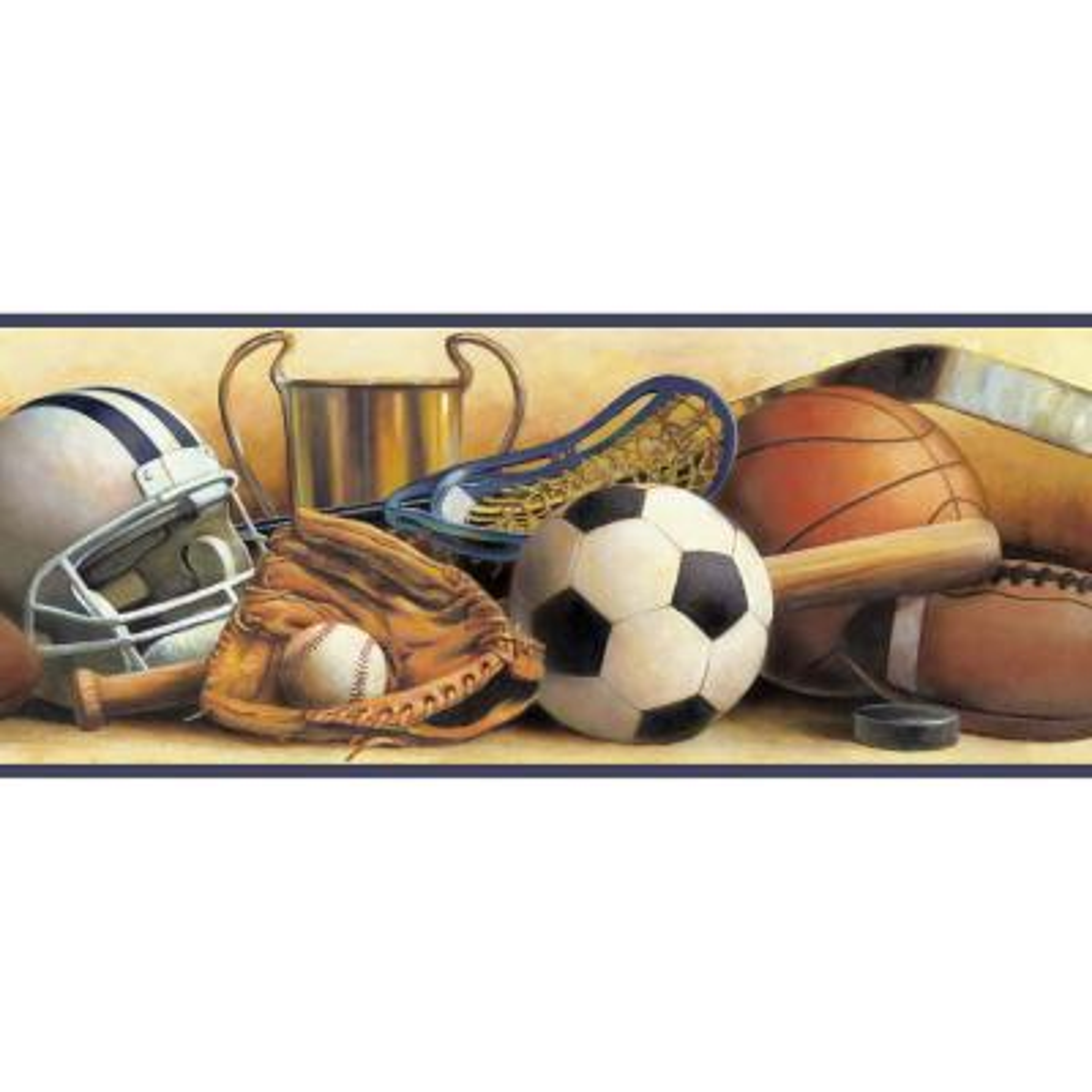 Hansel Classic Sports Portrait Wallpaper Border