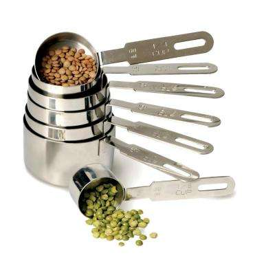 Endurance 7-Piece Stainless Steel Measuring Cup Set