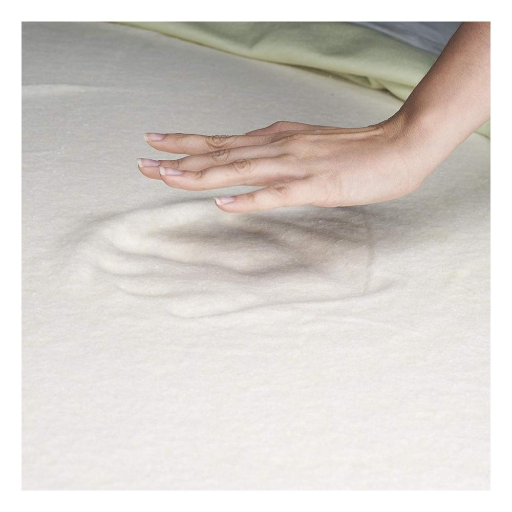 Natural Pedic Queen Size 10 in. Comfort Gel Memory Foam Mattress