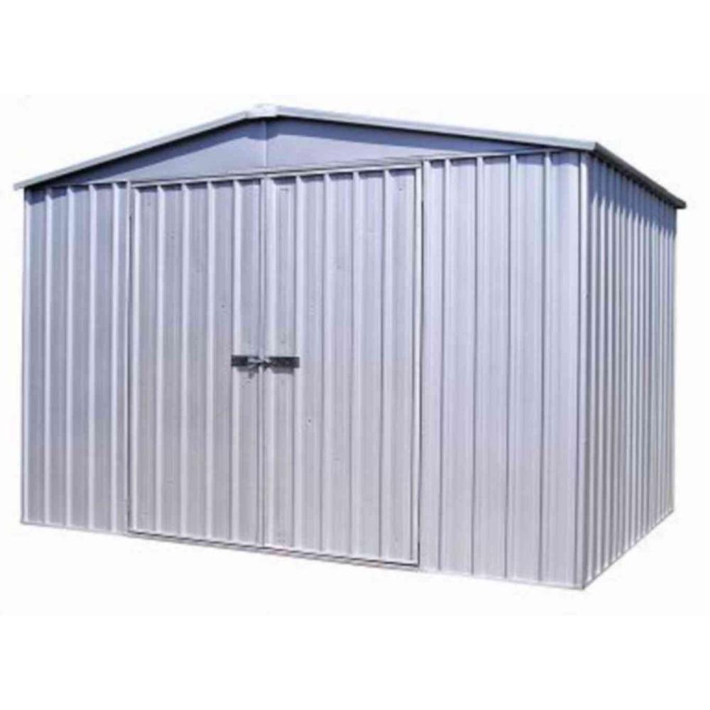 10 ft. x 10 ft. HighLander Zincalume Storage Shed