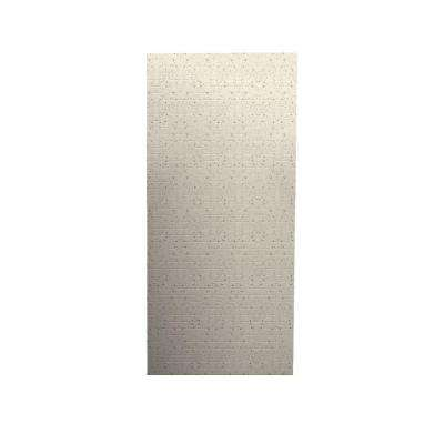 Geometric 1/4 in. x 36 in. x 96 in. One Piece Easy Up Adhesive Shower Wall in Tahiti Desert