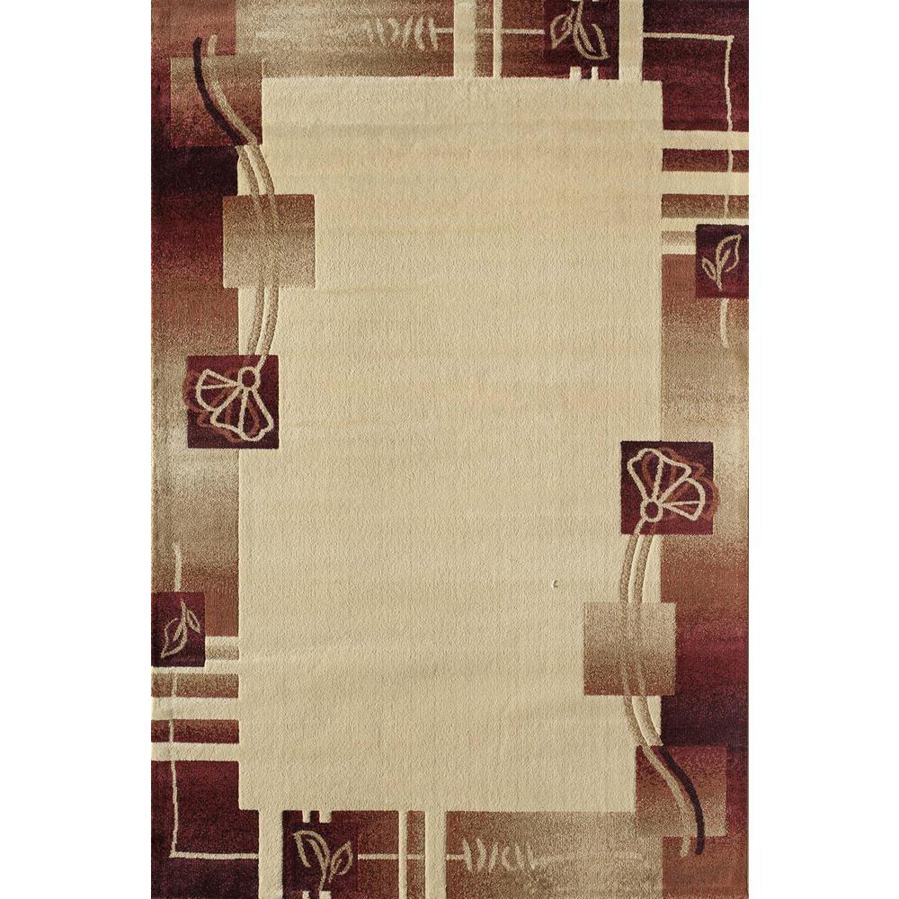 Clary Adonis Beige 2  ft. 3 in. x 7  ft. 10 in. Rectangular Runner