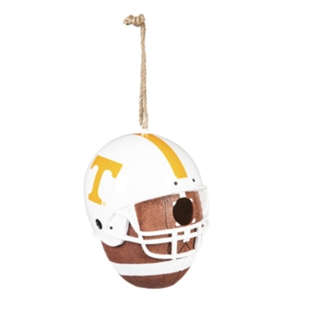 University of Tennessee 6.5 in. x 7.5 in. x 8 in. Polystone Hat/Helmet Ball Birdhouse