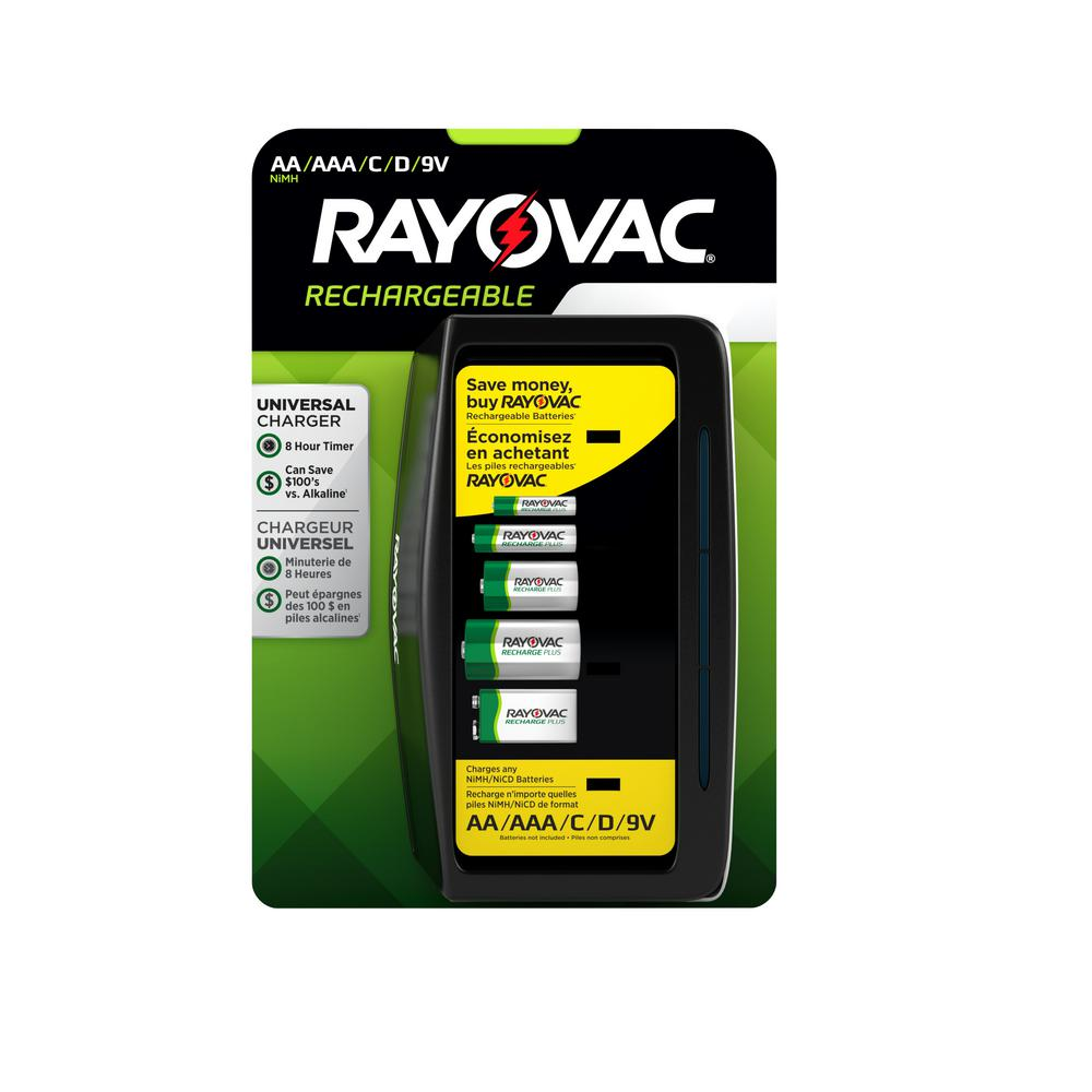 Rayovac Recharge Plus Universal Charger