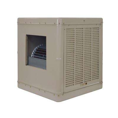 3000 CFM Side-Draft Wall/Roof Evaporative Cooler for 1000 sq. ft. (Motor Not Included)
