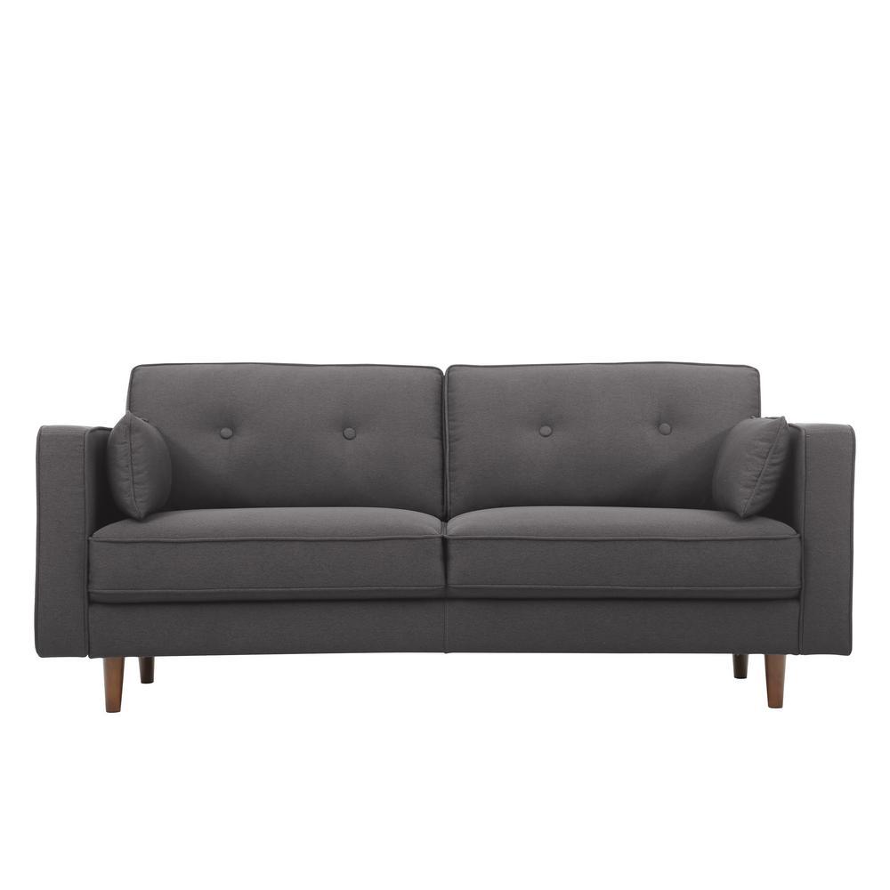 Serta Augustus Serta Pullout Java Full Sized Sofa Augustus
