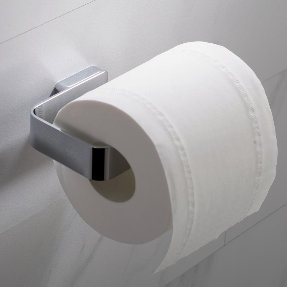 Stelios Bathroom Toilet Paper Holder in Chrome