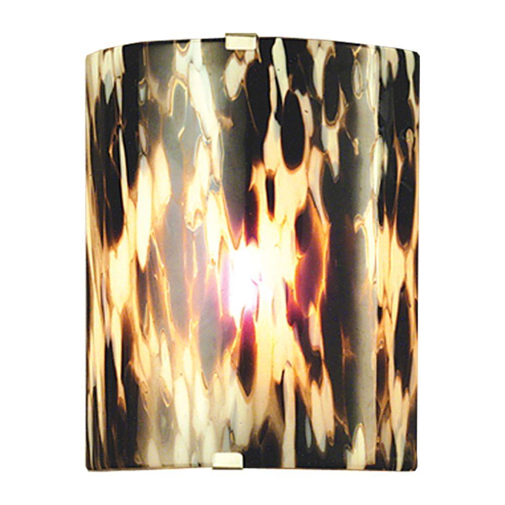 Illumine 1 La Perla Fused Wall Sconce