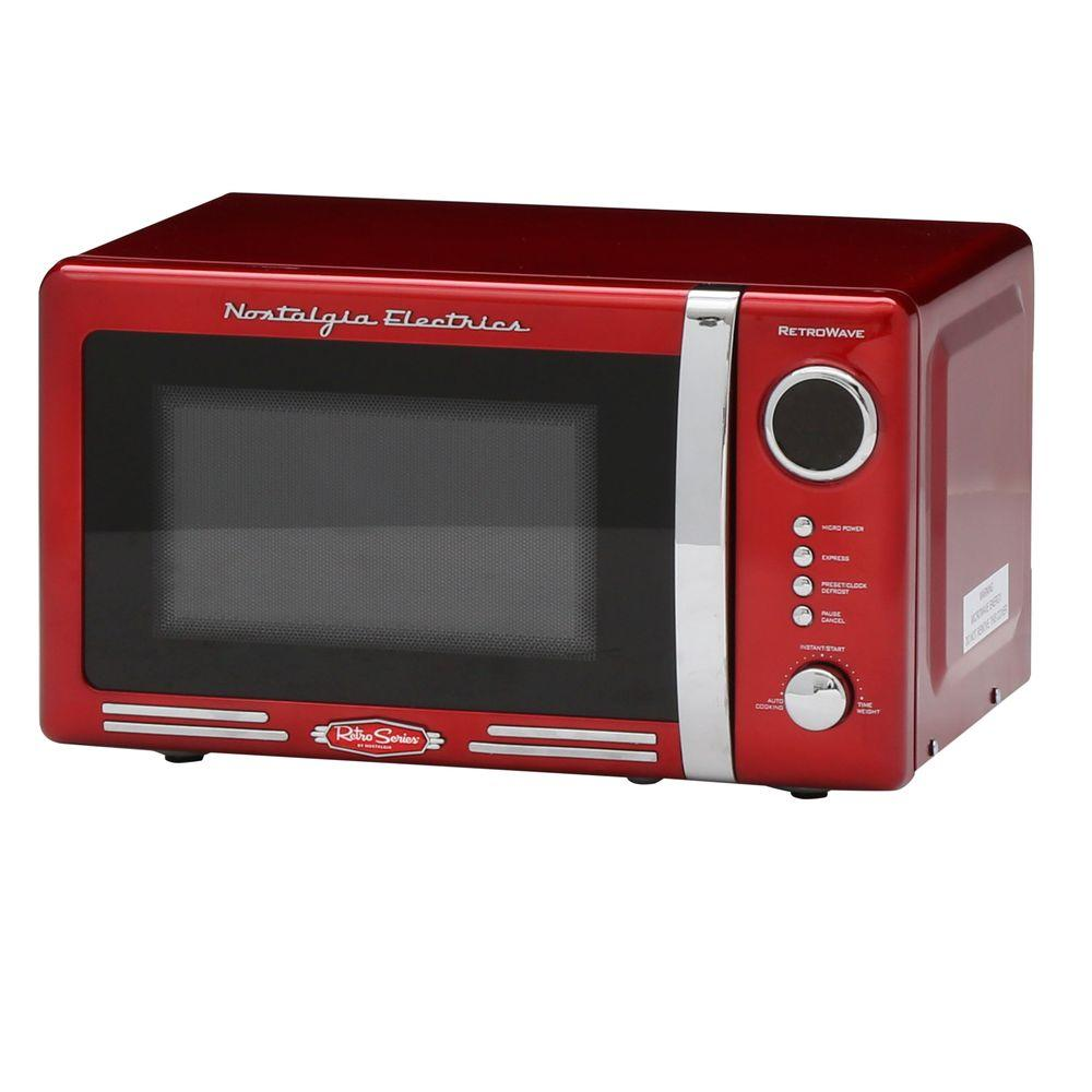 Microwave Oven Red Color