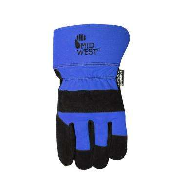 Men's Lined Glove - Blue