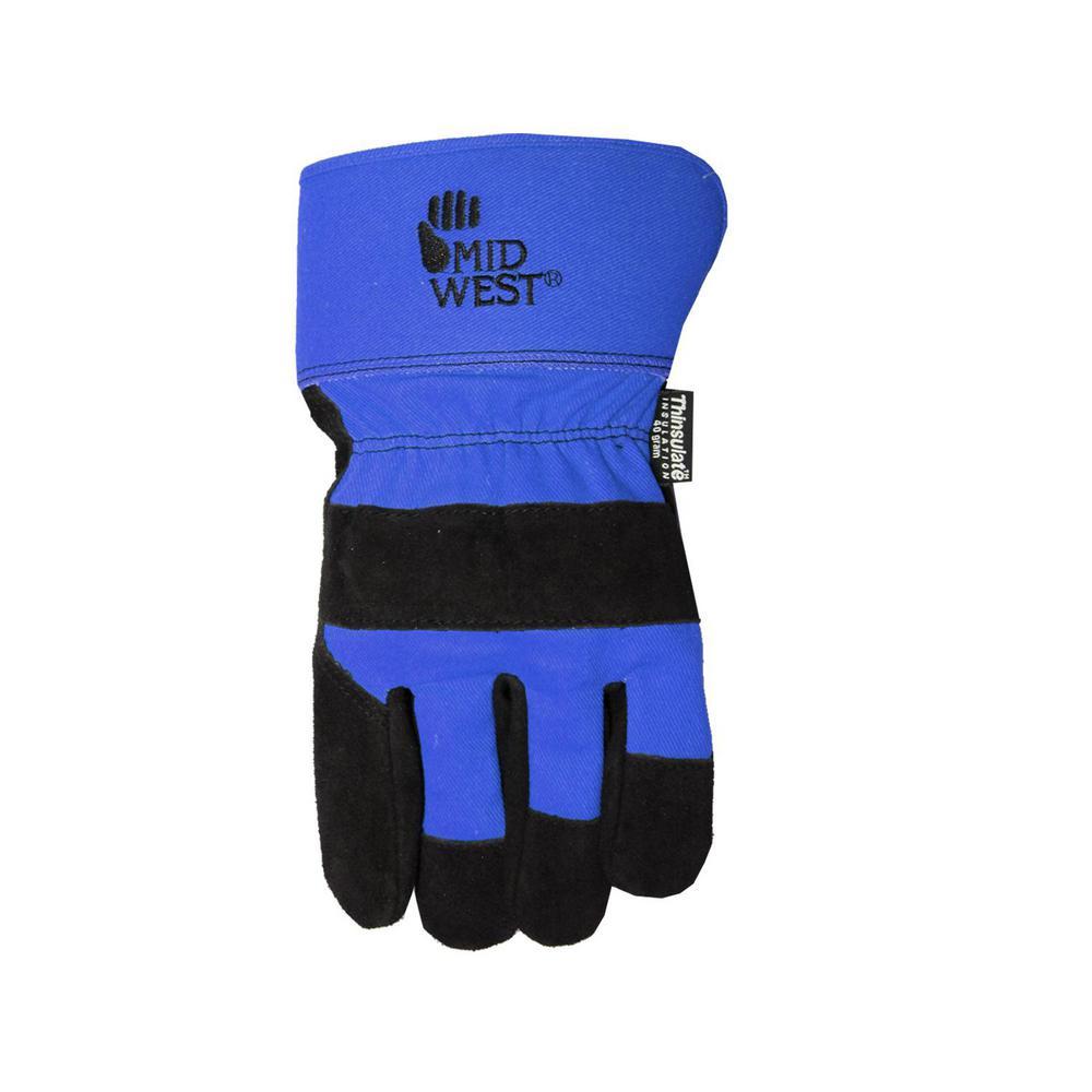Men's Lined Glove - Blue