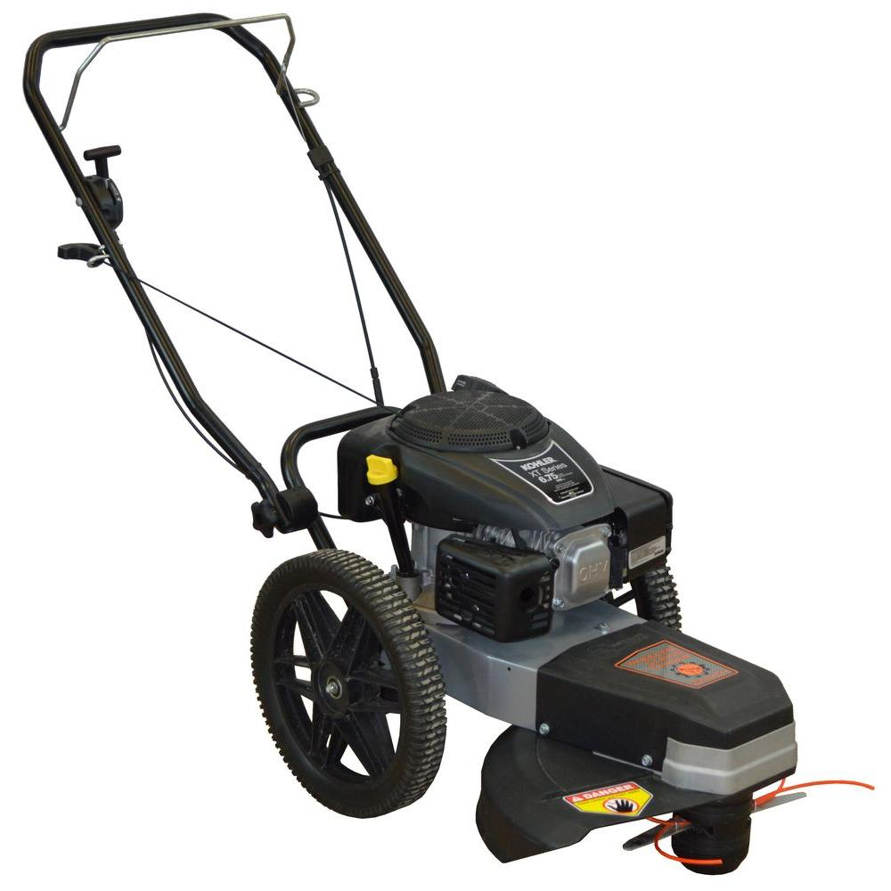 Dirty Hand Tools 22 In Dht Walk Behind Wheeled String Trimmer Mower
