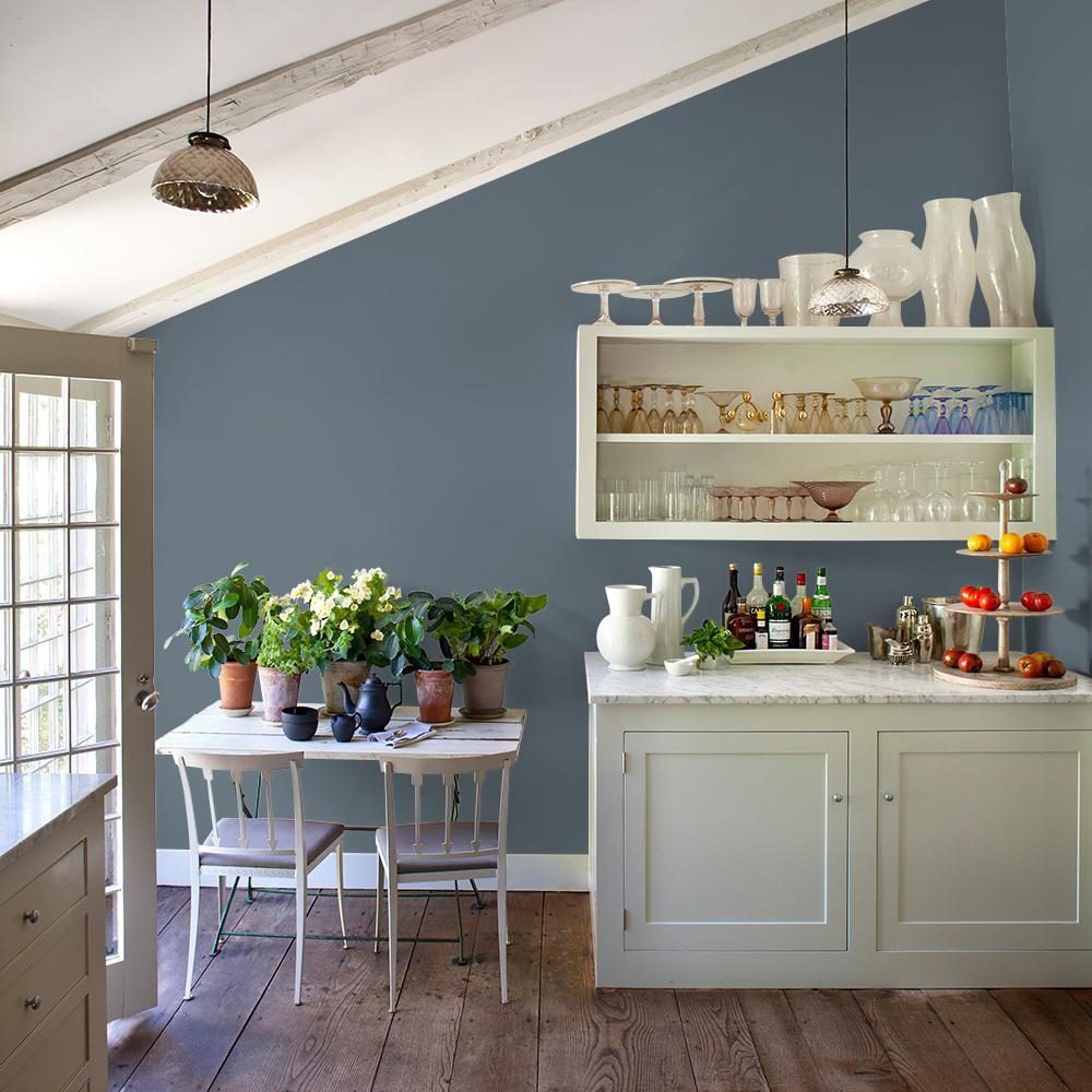 French Grey Satin Interior Paint