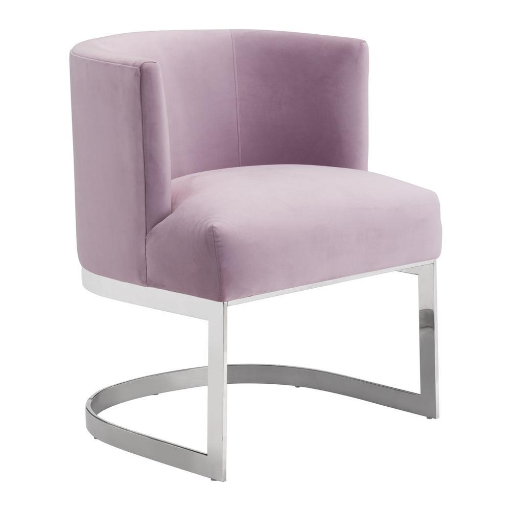 Artist Pink Velvet Occasional Chair