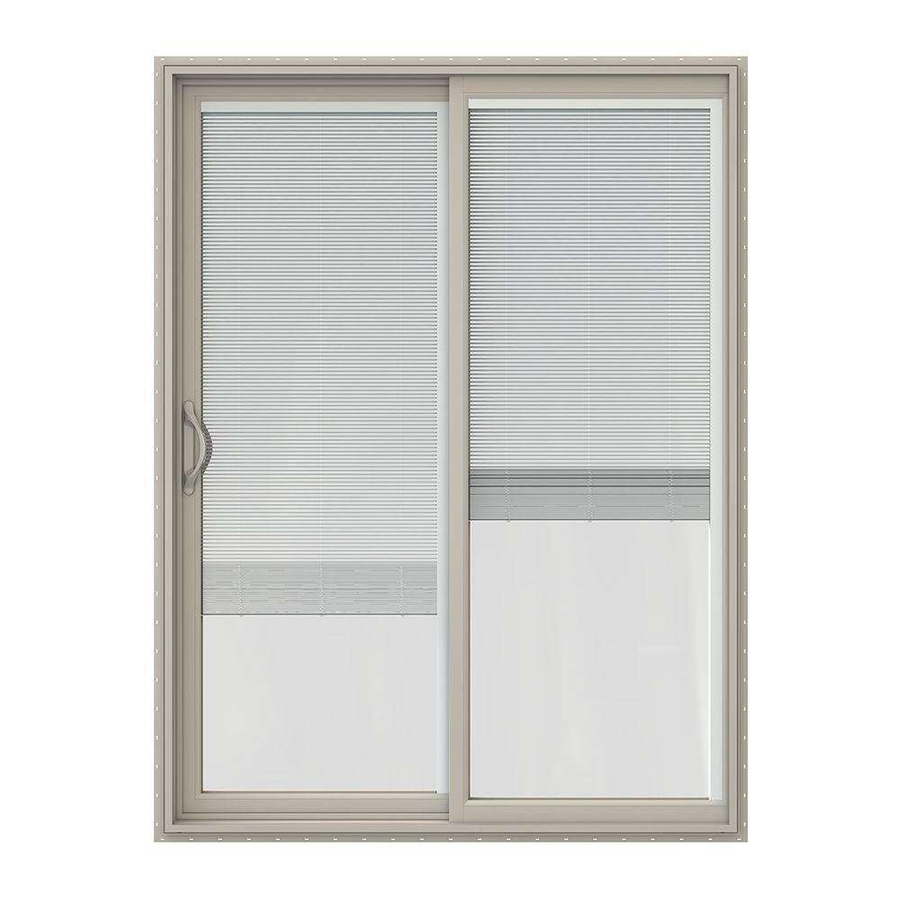 60 in x 80 in v 2500 series vinyl sliding patio door with - 60 Sliding Patio Door