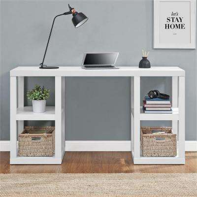 Parsons White Desk