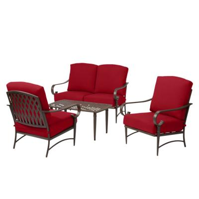 Red Patio Chairs Patio Furniture The Home Depot