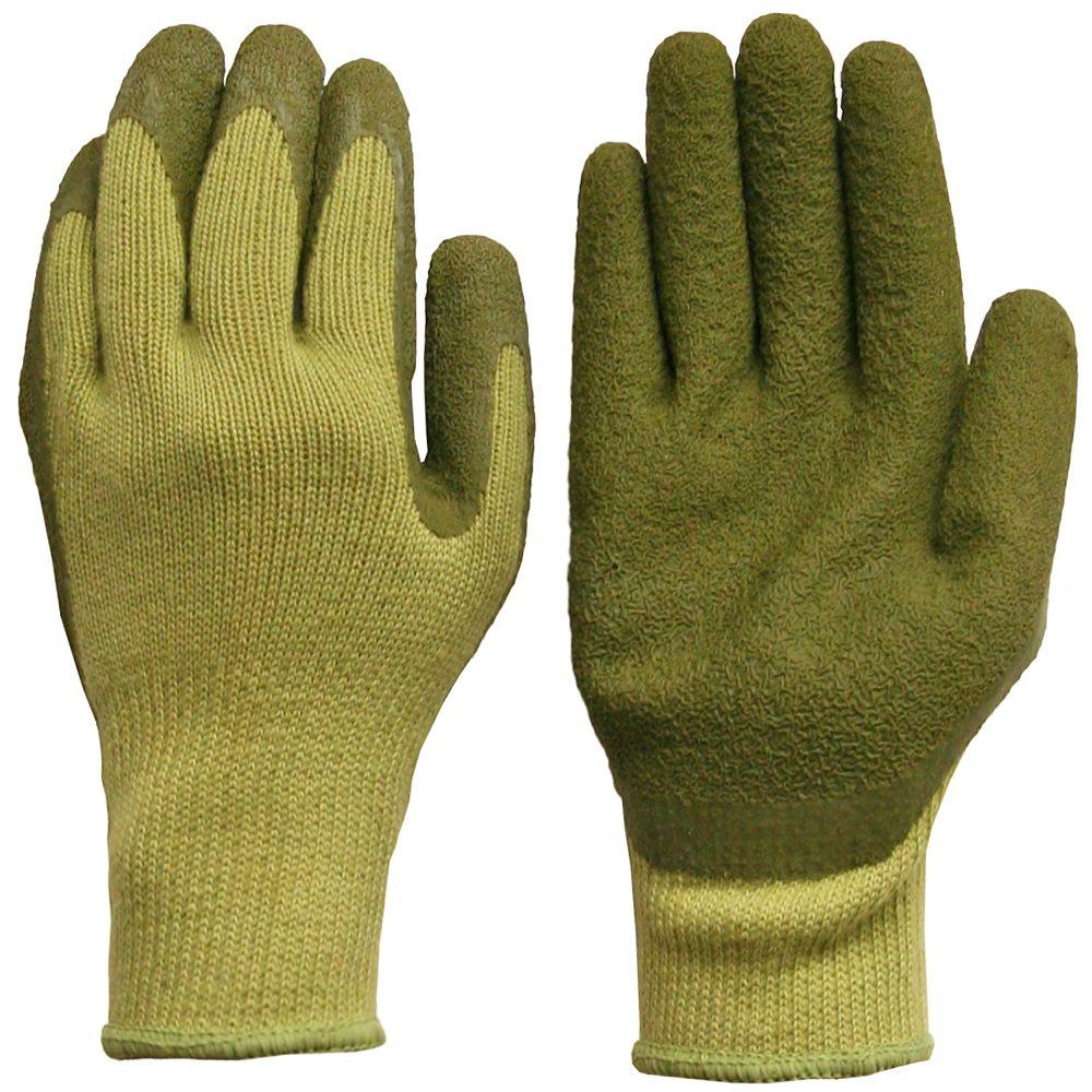 Digz Women's String Knit Latex Dip Gloves-DISCONTINUED