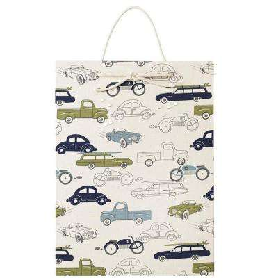 17 in. H Medium Retro Rides Magnetic Memo Board