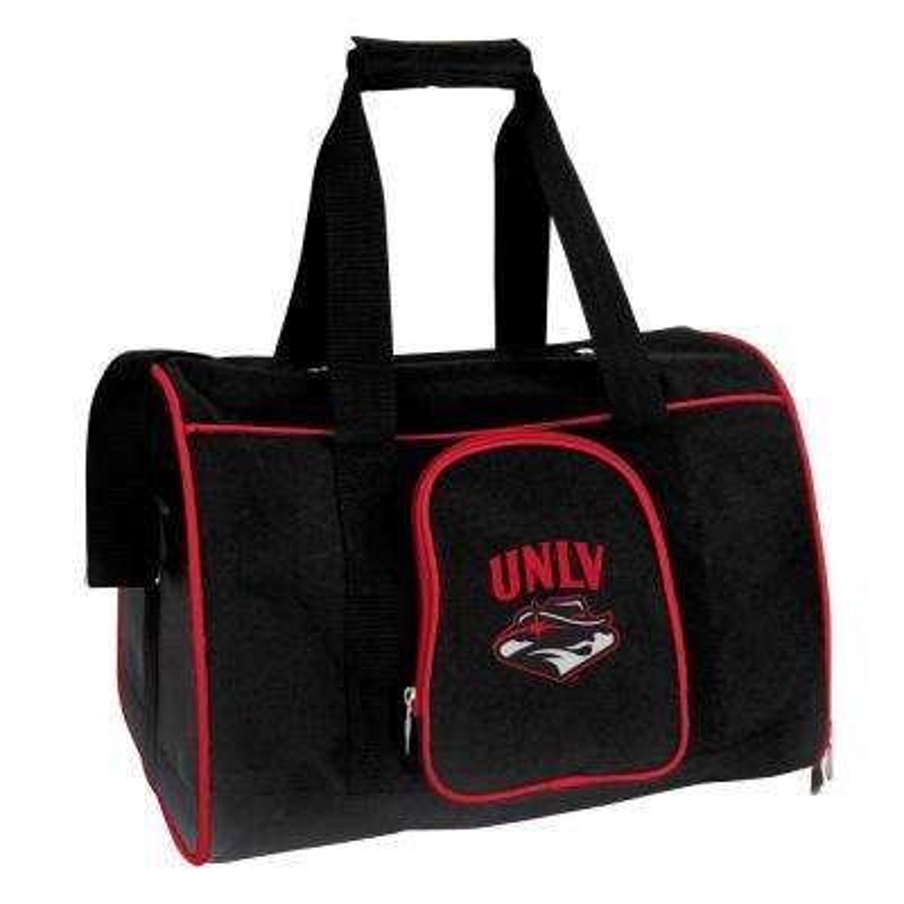 NCAA UNLV Rebels Pet Carrier Premium 16 in. Bag in Red