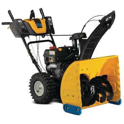 24 in. 243 cc 2X Two-Stage Gas Snow Blower with Electric Start, Power Steering and LED Headlights
