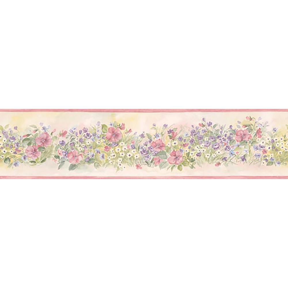 floral wallpaper border 941fr - photo #22