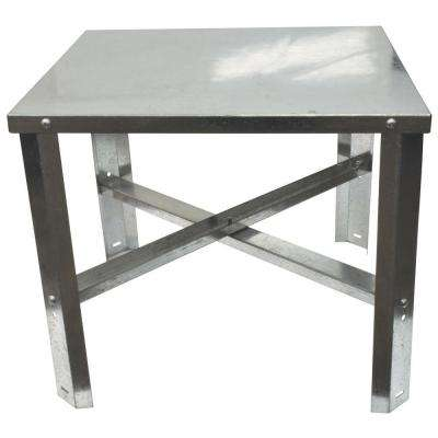 24 in. D x 24 in. W x 18 in. H Water Heater Stand