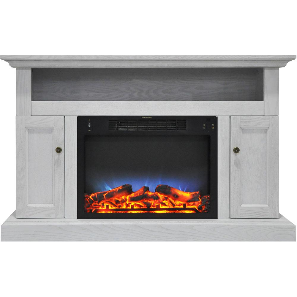 hanover kingsford 47 in electric fireplace with multi color led rh homedepot com electric fireplace led light replacement wall mount electric fireplace led