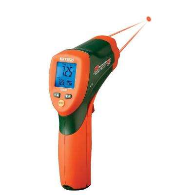 IR Digital Thermometer with 12:1 View and 950 Dual Laser