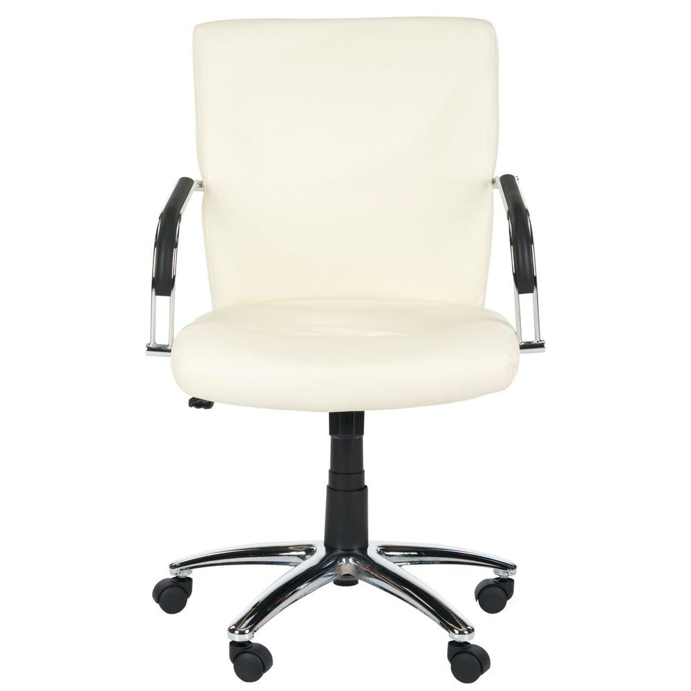 Lysette Cream Office Chair