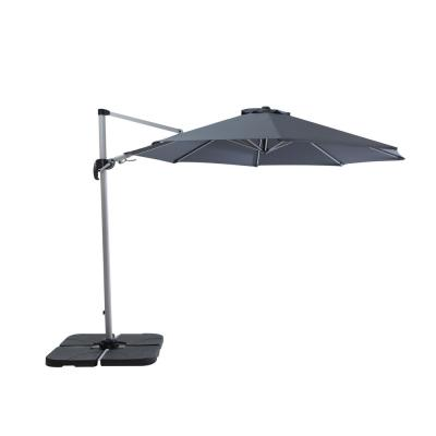 CAMILLA 10 ft. Heavy-Duty Cantilever Patio Umbrella in Gray