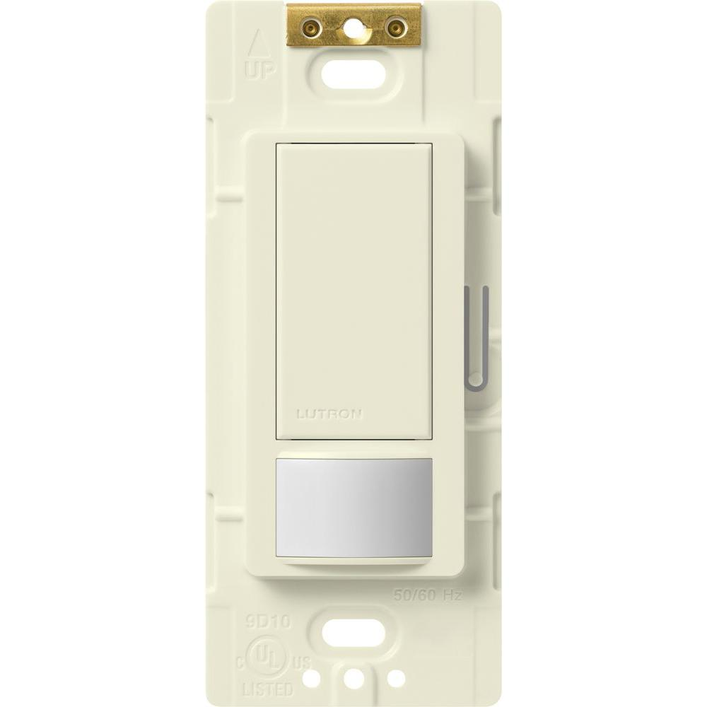 Maestro Motion Sensor switch, 5-Amp, Single-Pole or Multi-Location, Biscuit