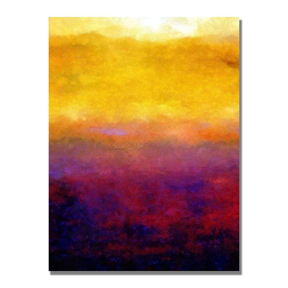24 in. x 32 in. Golden Sunset Canvas Art-MC114-C2432GG - The Home Depot