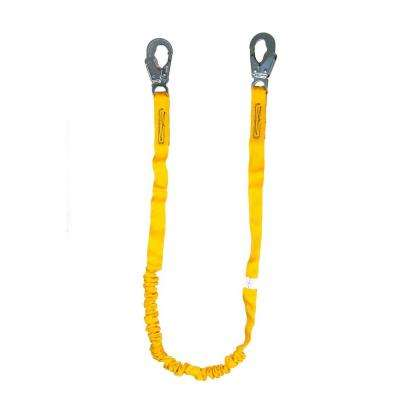 6 ft. Internal Shock Lanyard with Single Leg and Snap Hook