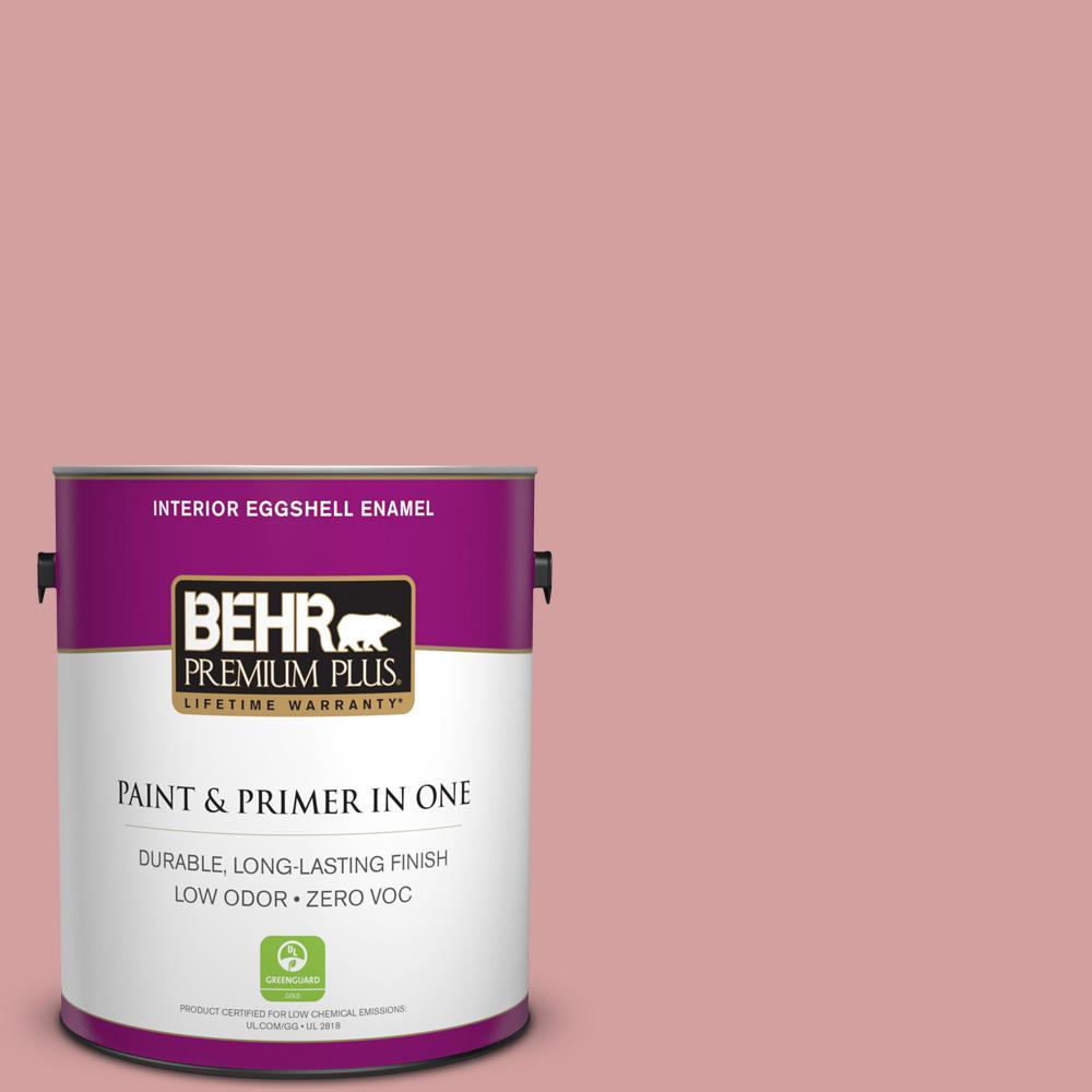 BEHR Premium Plus 1-gal. #S150-3 Rose Pottery Eggshell Enamel Interior Paint