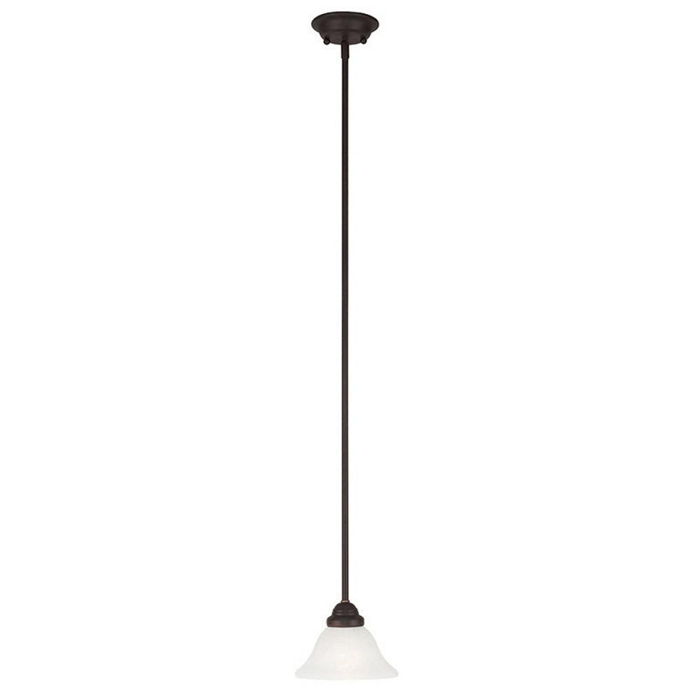 Coronado 1-Light Bronze Mini Pendant