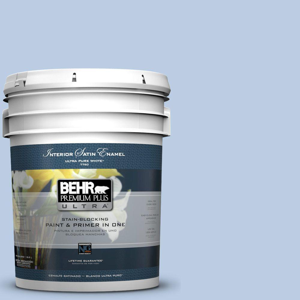 5-gal. #M530-2 Sky's the Limit Satin Enamel Interior Paint