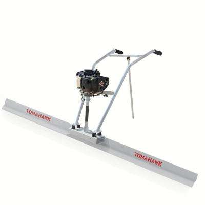 Power Screed Concrete Finishing Float 12 ft. Blade Board and 37.7 cc Gas Vibrating Motor Tool