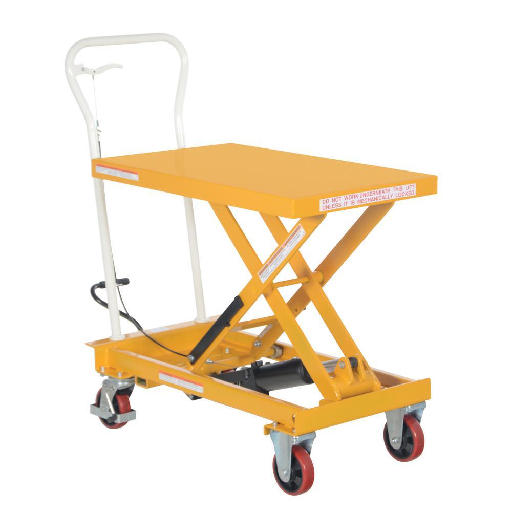 Vestil 500 lb. 19.75 in. x 32.75 in. Auto-Shift Cart