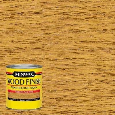 1-qt. Wood Finish Golden Oak Oil Based Interior Stain (4-Pack)