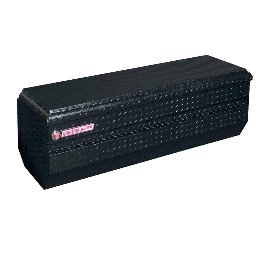 Weather Guard 62 Gloss Black Aluminum Full Size Chest Truck Tool Box