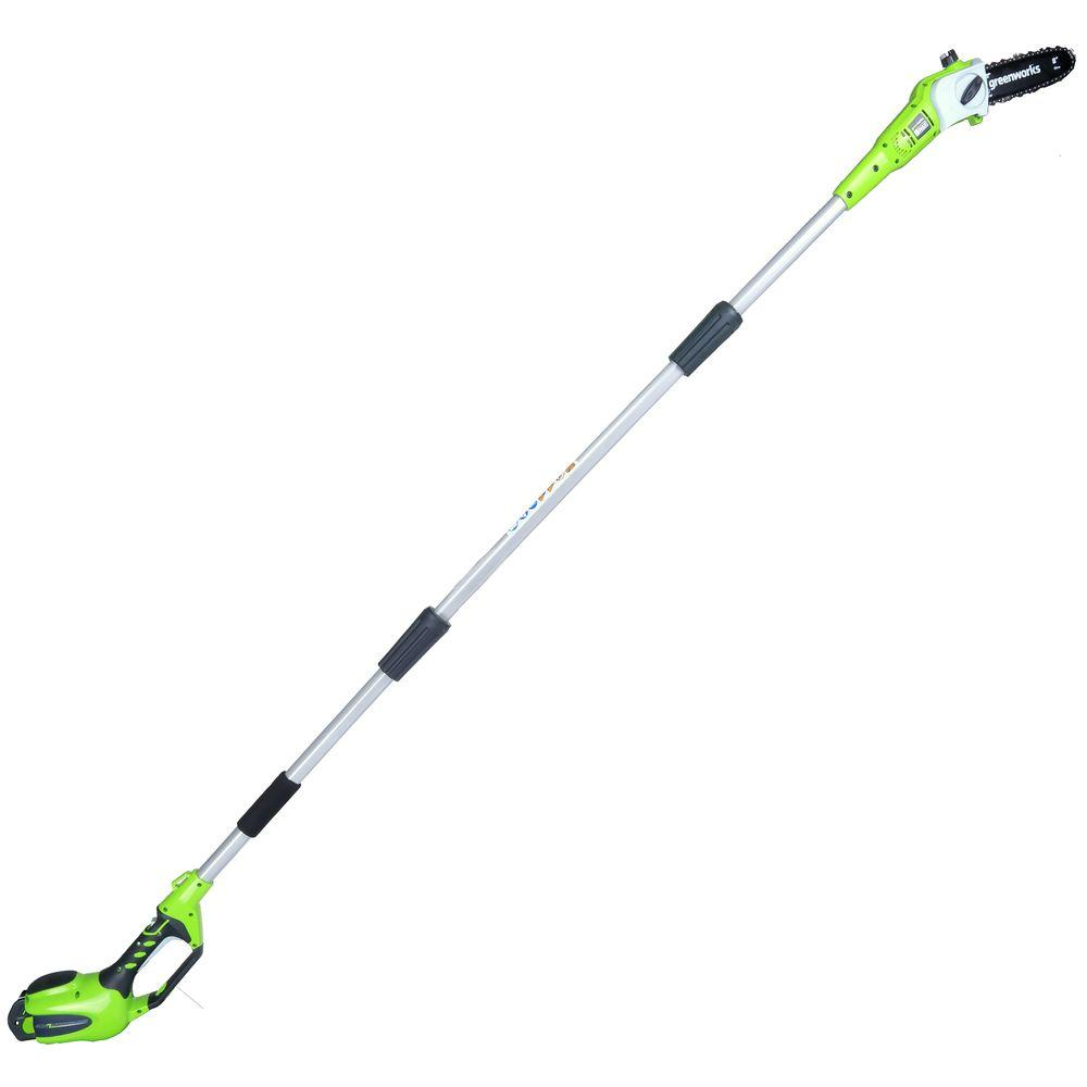 G-MAX 8 in. 40-Volt Cordless Pole Saw - 2.0 Ah Battery