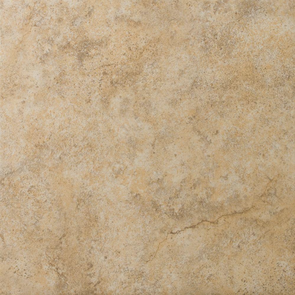 Emser Toledo Walnut 17 in. x 17 in. Ceramic Floor and Wall Tile (16.56 sq. ft. / case)