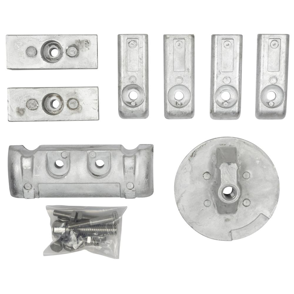 Mercury Verado 6 Cyl Aluminum Anode Kit